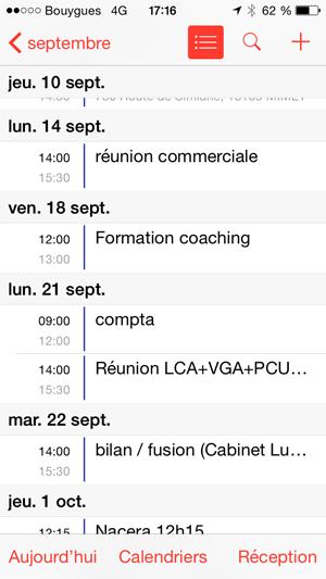 Calendrier Partage En Ligne.Agenda Partage En Ligne Et Synchronise Sur Mobile Et Iphone